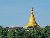 U Rit Taung Pagoda in Myanmar Royalty Free Stock Photo