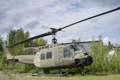 U S军队Huey直升机 库存照片