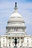 U.S. Κτήριο Capitol, ΣΥΝΕΧΈΣ ΡΕΎΜΑ της Ουάσιγκτον. Στοκ εικόνες με δικαίωμα ελεύθερης χρήσης