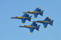 U S Μπλε ναυτικοί άγγελοι Στοκ Φωτογραφία