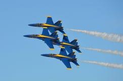 U S Μπλε ναυτικοί άγγελοι Στοκ Εικόνες