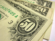 U.S. δολάρια Στοκ εικόνα με δικαίωμα ελεύθερης χρήσης