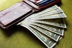 U.s. δολάρια Στοκ Φωτογραφία