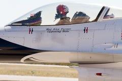 U S Ο αέρας Πολεμικής Αεροπορίας παρουσιάζει Thunderbirds Στοκ εικόνες με δικαίωμα ελεύθερης χρήσης