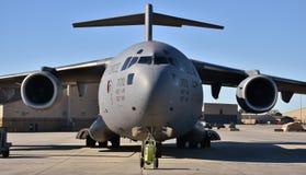 U S Πολεμική Αεροπορία γ-17 Globemaster ΙΙΙ Στοκ Εικόνα