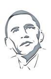 U.S. Πρόεδρος Barack Obama Στοκ Εικόνα