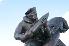 U S Πλευρά παραλιών της Γιούτα μνημείων ναυτικού Στοκ Εικόνες