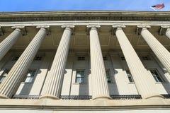 U.S. Τμήμα του Υπουργείου Οικονομικών Στοκ φωτογραφία με δικαίωμα ελεύθερης χρήσης