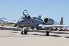 U S Военновоздушная сила Warthog Стоковое Изображение