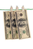 Американские кредитки. Стоковое фото RF