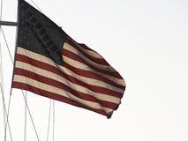 U S летание флага высокое Стоковое Изображение RF