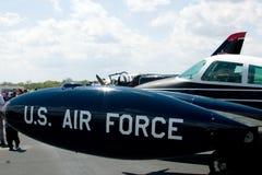U.S. Пассажирский самолет военновоздушной силы Стоковая Фотография
