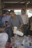 U.S. Сенатор Barak Obama Стоковые Фотографии RF