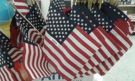 U S Флаги стоковые фотографии rf
