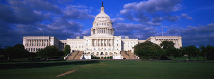 U.S. 国会大厦 免版税库存图片