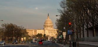 U.S. 国会大厦 图库摄影