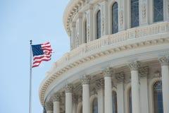 U S 国会大厦 免版税库存图片