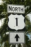U S 寻址1签到基韦斯特岛,佛罗里达,美国 库存图片