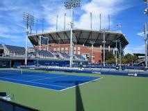 U S 打开网球-旁边法院 库存照片