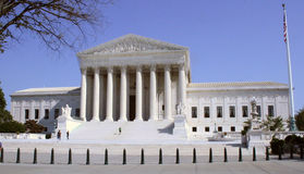U S 最高法院大厦,华盛顿特区, 免版税库存照片