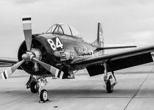 U S 海军T-34飞机 免版税图库摄影
