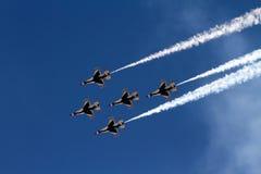 U S 空军队雷鸟 库存图片