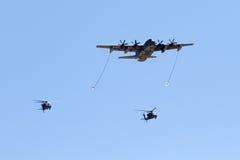 U S 空军队飞行表演在图森,亚利桑那 图库摄影