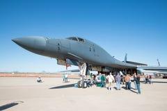 U S 空军队飞行表演在图森,亚利桑那 免版税库存图片