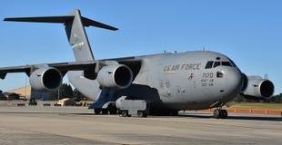 U S 空军队C-17 Globemaster III 免版税库存照片