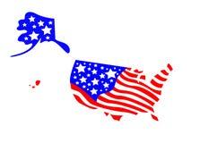 U.S.A. Illustrazione Vettoriale
