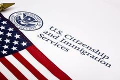 U.S. Abteilung des Staatssicherheit-Zeichens Stockfoto