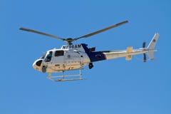 U S Aduanas y helicóptero de la patrulla fronteriza Foto de archivo libre de regalías