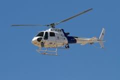 U S Aduanas y helicóptero de la patrulla fronteriza Imagen de archivo libre de regalías