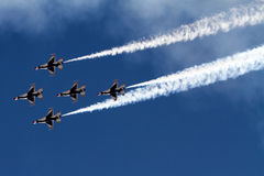Free U.S. Air Force Air Show In Tucson, Arizona Stock Image - 68498821