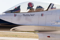 U.S. Air Force Air Show Thunderbirds Royalty Free Stock Images