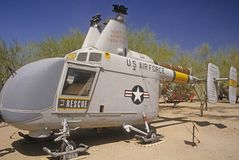 U.S. Air Force rescue helicopter Stock Photo