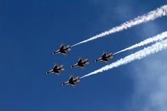 U.S. Air Force Thunderbirds Stock Images