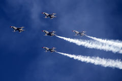 U.S. Air Force Thunderbirds Royalty Free Stock Photography