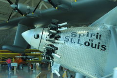 U. S Airforce Vintage plane Royalty Free Stock Image