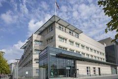 U S Ambasada w Berlin zdjęcia stock