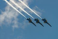 U S Angoli dei blu navy Fotografia Stock
