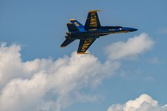 U S Angoli dei blu navy Fotografie Stock