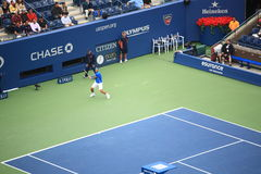 U.S. Apra il tennis - Rafael Nadal Fotografie Stock Libere da Diritti