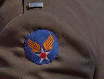 U S Armee-Luftwaffen-Insignien, 70. V-E Day Anniversary Lizenzfreies Stockbild