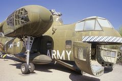 U.S. army cargo helicopter Royalty Free Stock Images