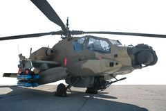 U.S. Army helicopter Apache royalty free stock images