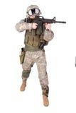 U.S. Army Infantryman Royalty Free Stock Photos