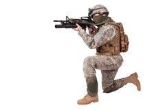 U.S. Army Infantryman Stock Photography