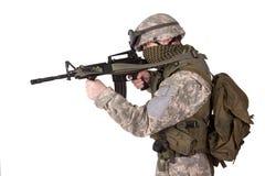 U.S. Army Infantryman Royalty Free Stock Images
