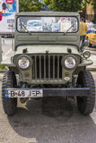 U.S. Army Jeep Royalty Free Stock Photo